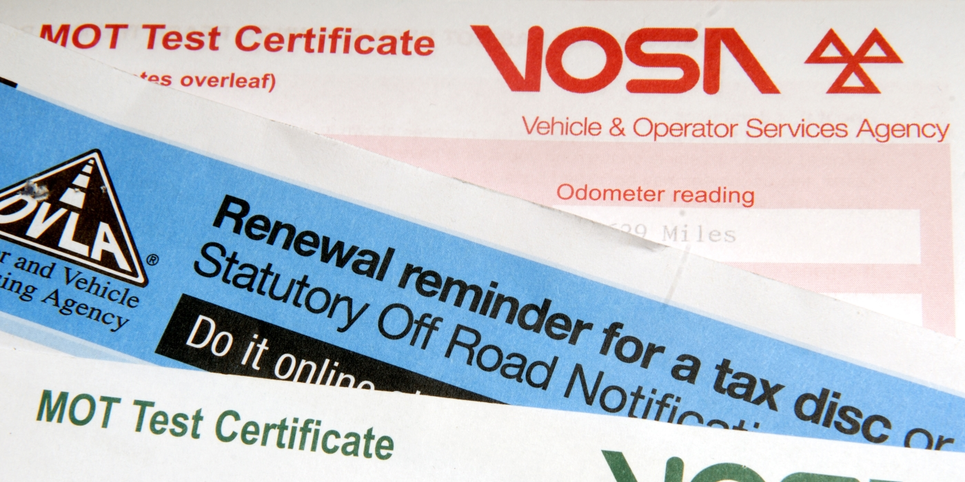 Check Tax and MOT online